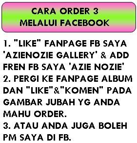 CARA ORDER - FACEBOOK