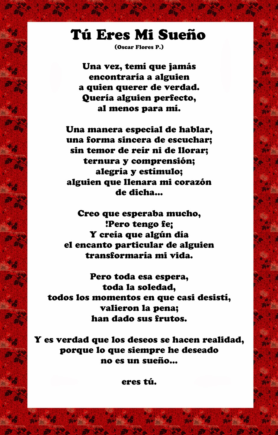 Poems about love in spanish