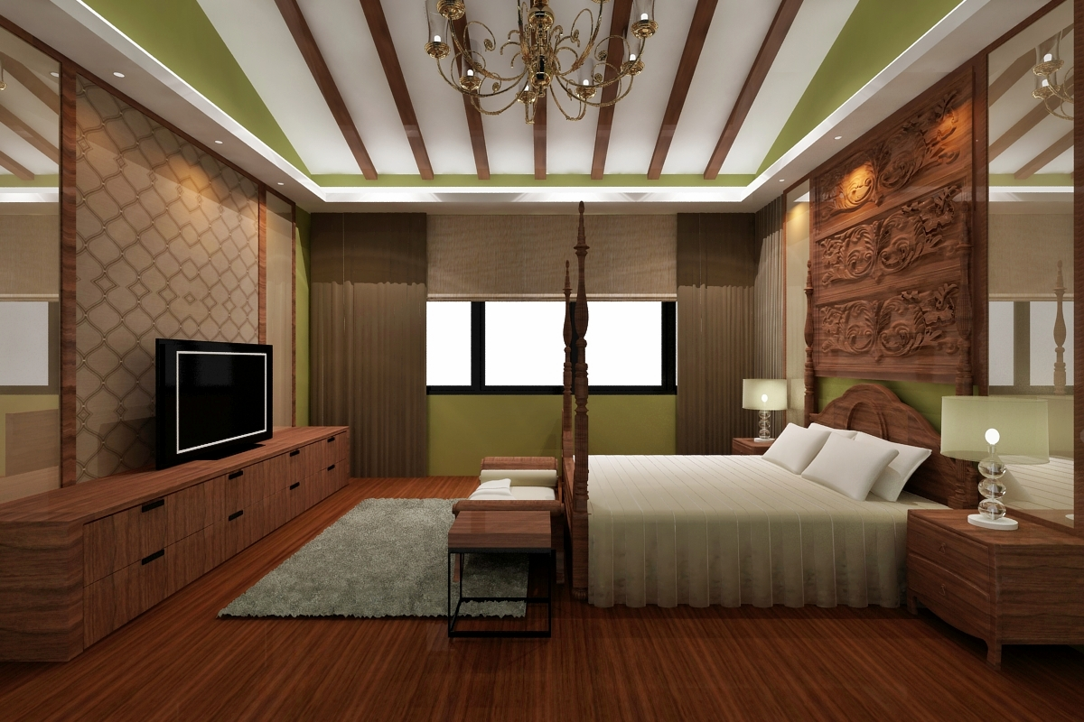 Sarang interiors modern tropical interior design by for Interior design of bungalow