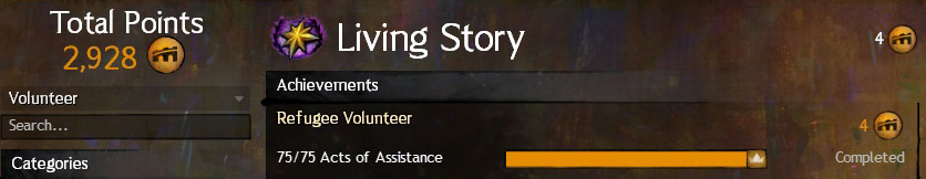 Living Story Volunteer Title Flame and Frost Prelude GW2
