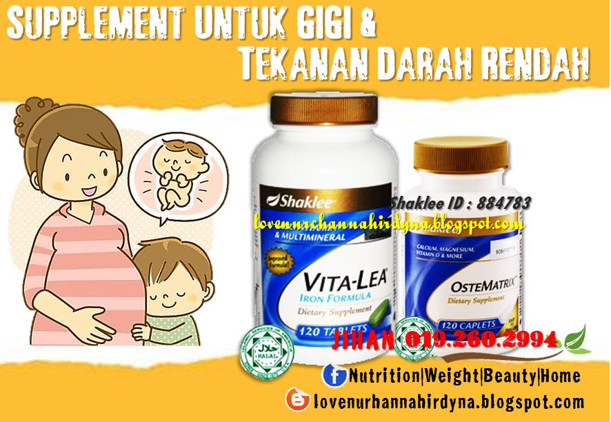 vitamin shaklee untuk tekanan darah rendah