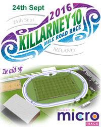 Killarney 10 mile road race...Sat 24th Sept 2016