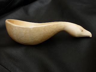 Kuksa Jon Mac spoon carving first steps
