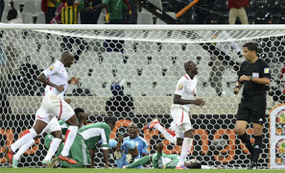 Eagles fumble in 1-1 draw with Burkina Faso