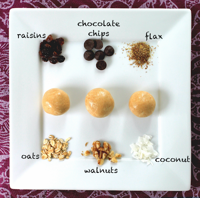 Healthy Peanut Butter Protein Balls - Healthy Dessert Recipes at Desserts with Benefits