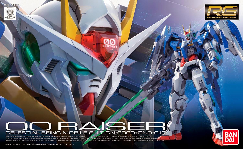 Gundam 00 Raiser Trans Am Burst