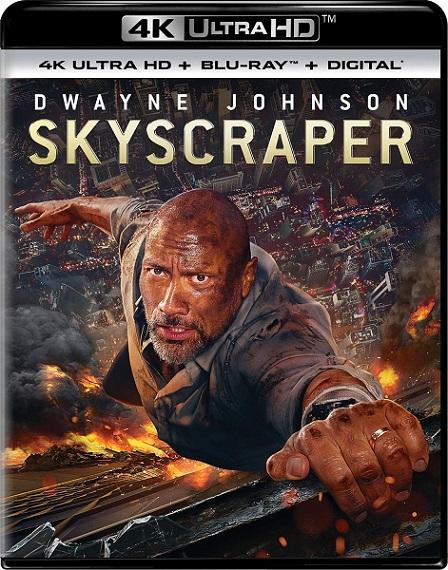 Skyscraper 4K (Rascacielos: Rescate en las alturas 4K) (2018) 2160p 4K UltraHD HDR BluRay REMUX 55GB mkv Dual Audio Dolby TrueHD ATMOS 7.1 ch