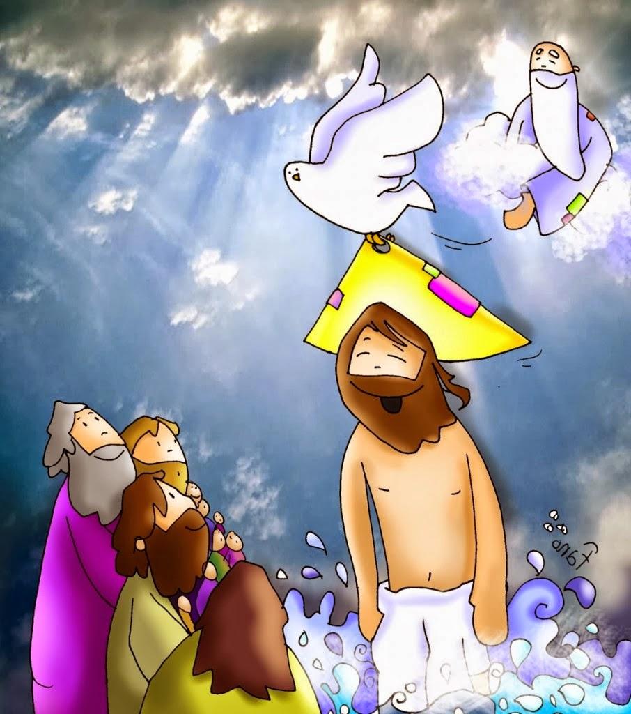 Blog Católico Gotitas Espirituales ®: IMÁGENES DEL BAUTISMO DE JESÚS