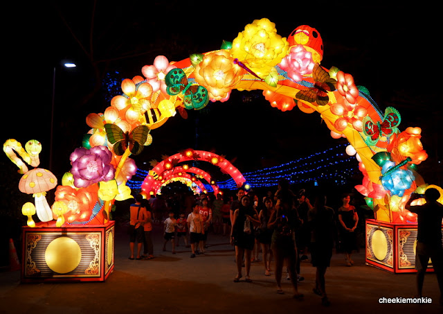 Cheekiemonkies singapore parenting lifestyle blog mid autumn festival gardens by the bay - Garden by the bay festival ...