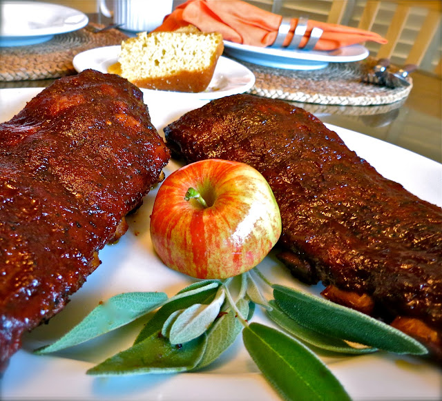 The Bee Cave Kitchen : Dr. Pepper Baby Back Ribs on Big Green Egg