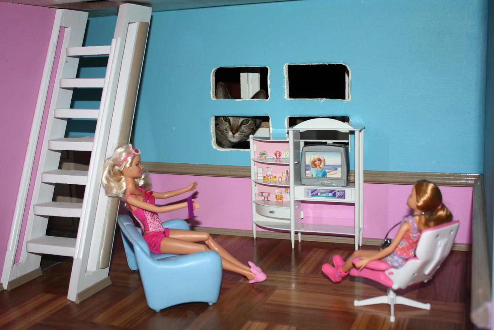 Как сделать рабочий стол для кукол барби