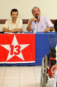 Organização Militância PT/Natal/RN - Fotos do Ciclo de Debates: Vlademir Alexandre