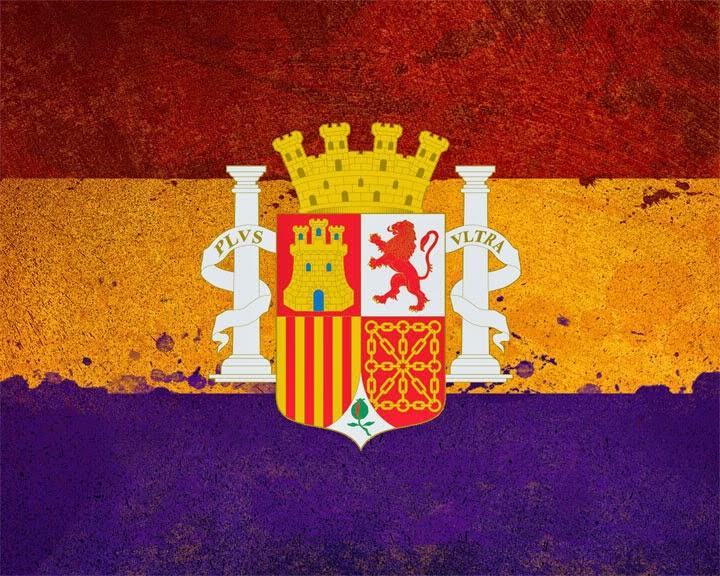 República Española, Bandeira, Bandera, Flag, Spanish Republic, República Espanhola, République Espagnole, Drapeau