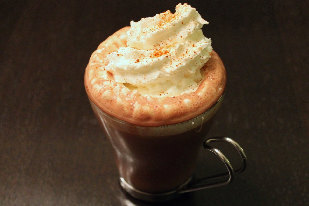 Spicy Aztec Hot Chocolate with Mezcal