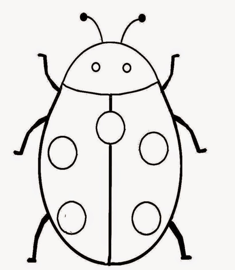 bug coloring pages ladybug - photo#26