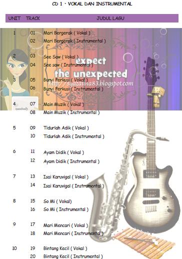 CD 1 : VOKAL DAN INSTRUMENTAL