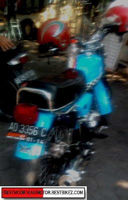 Modifikasi Honda CB 100 1973 Full Custom - Gambar Modifikasi Motor ...