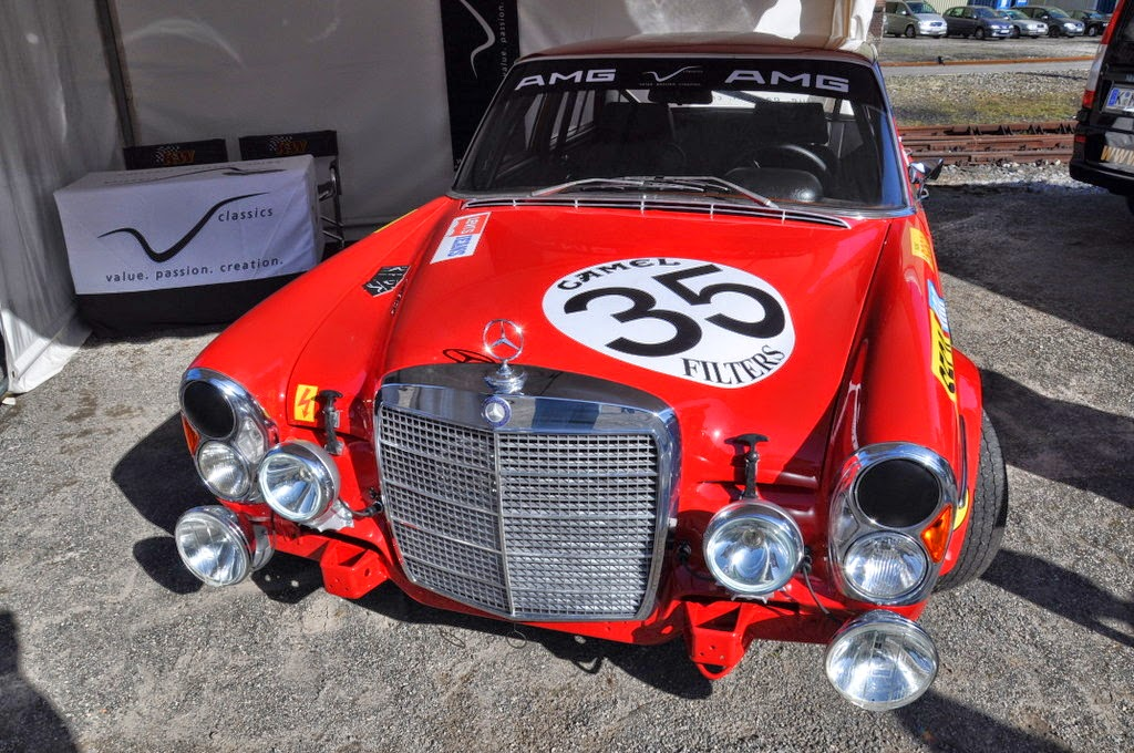 Benztuning Mercedes 280sel 6 3 Amg The Red Pig