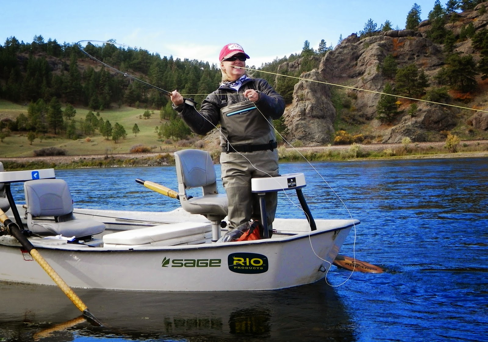 Gorge fly shop blog missouri river fishing resources for Missouri river fly fishing