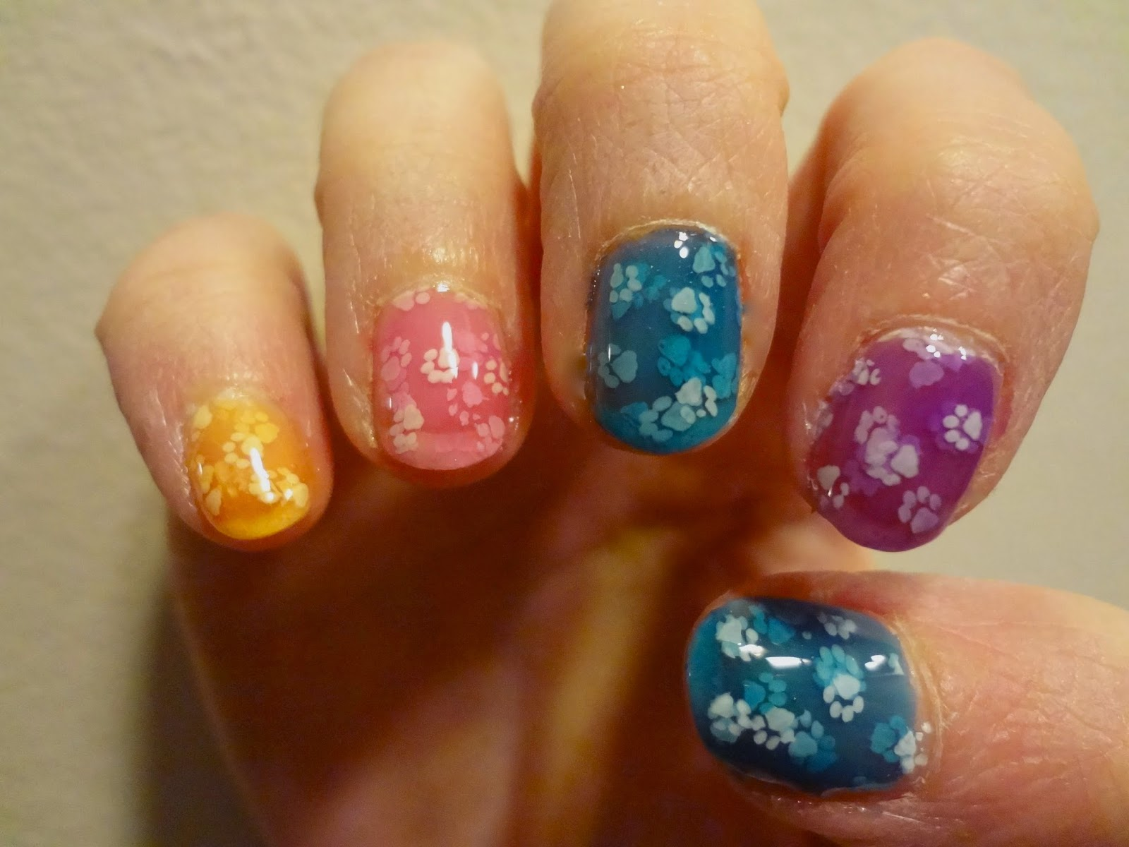 The Knoxville Paintbox: A Beauty Blog: Bunny Prints Skittle Pond ...