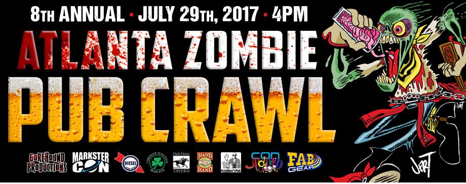 Atlanta Annual Zombie Pub Crawl