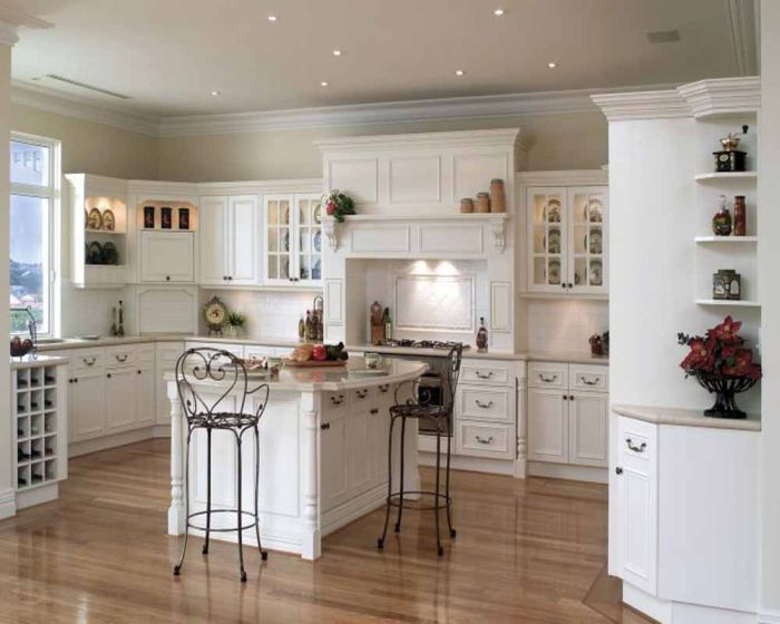 Kitchens With White Cabinets Pleasing Of Country Kitchens with White Cabinets Pictures