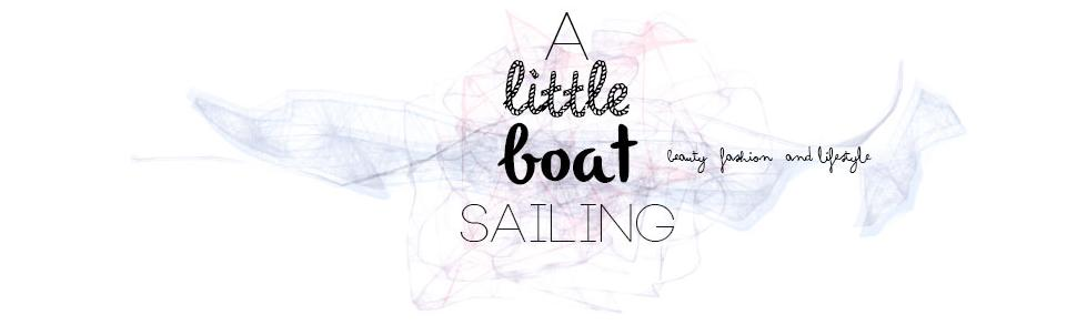 A Little Boat Sailing