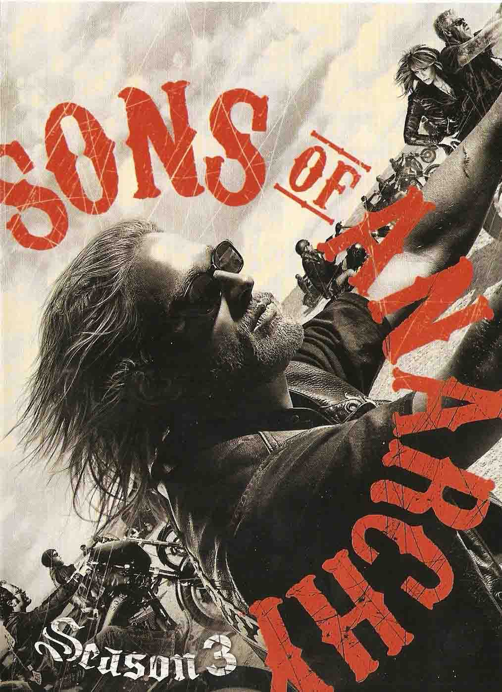 Sons of Anarchy 3ª Temporada Torrent - BluRay 720p Dual Áudio