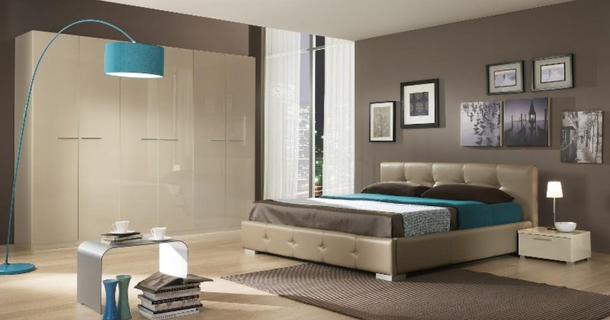 Dormitorios en marr n y turquesa dormitorios colores y - Decoracion en tonos turquesa ...