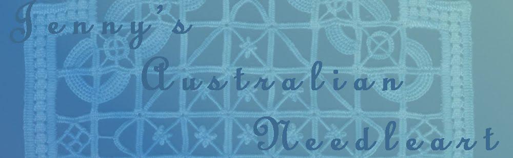 Jenny's Australian Needleart Journey