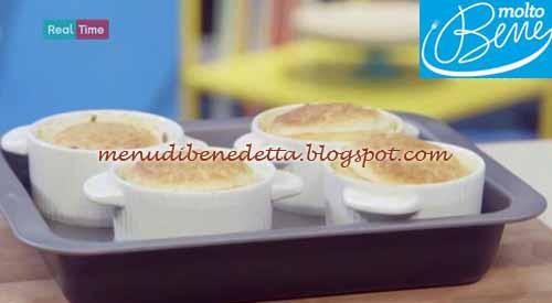 Soufflè al formaggio ricetta Parodi per Molto Bene