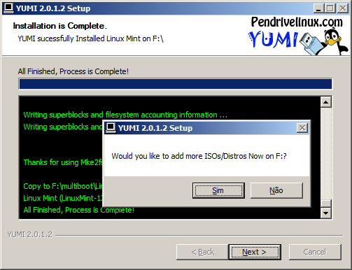 multiboot com Yumi