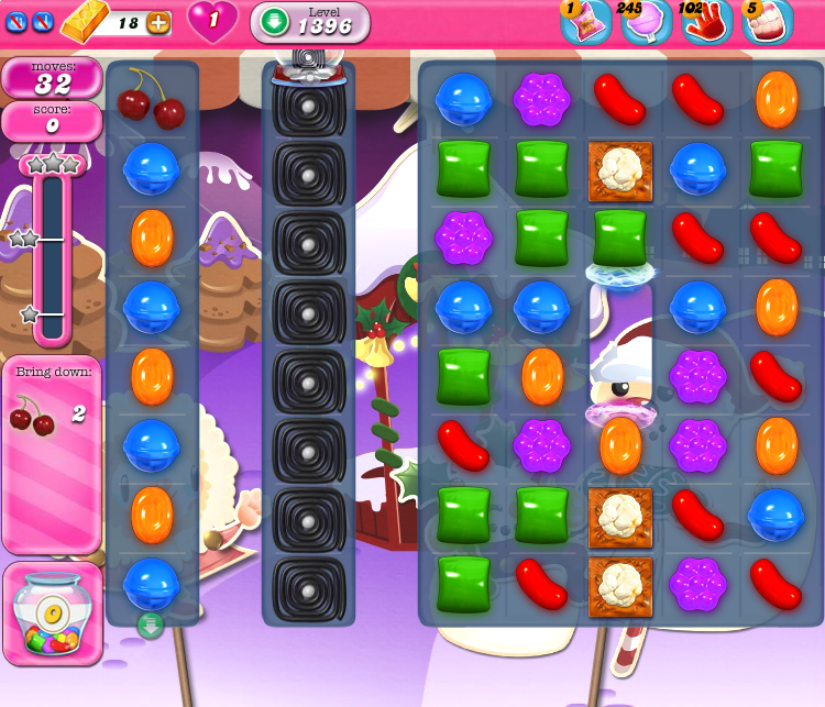 Candy Crush Saga 1396
