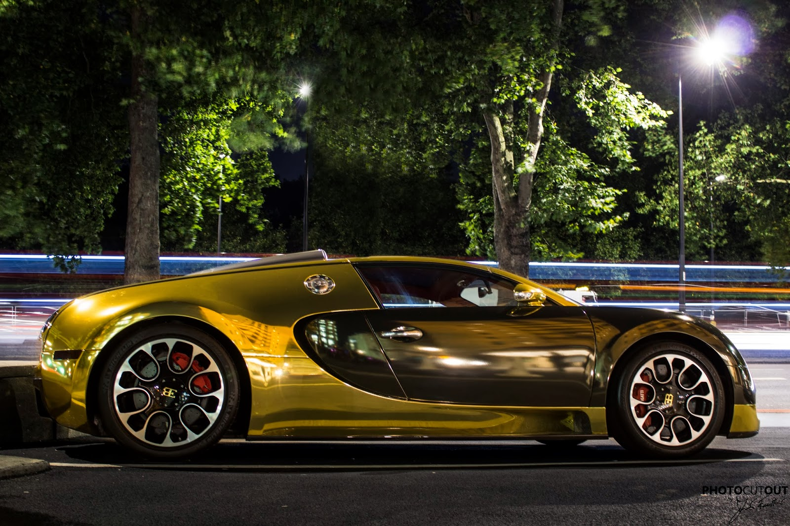 Black And Gold Bugatti Gold bugatti veyron grand