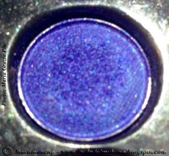 ombretto blu shimmer