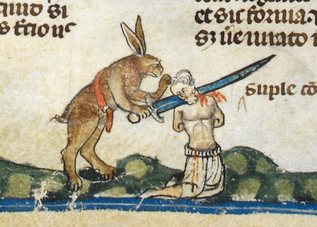 Day in Medieval Europe Murderous Rabbit