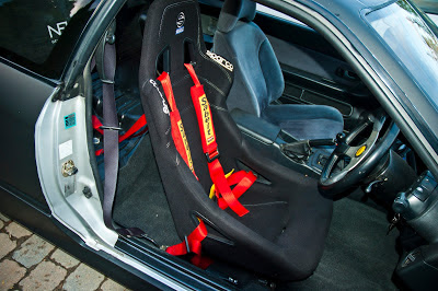 Racing Seat and Harness