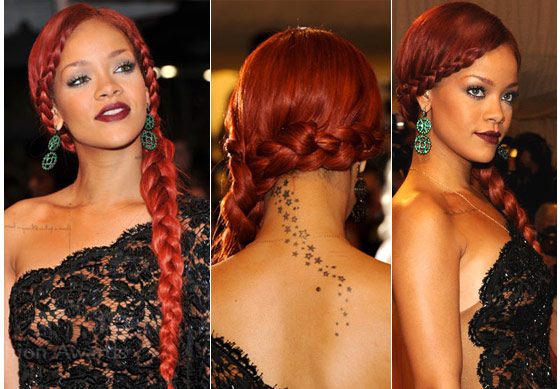 Rihanna Braid Hairstyles