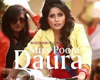Miss Pooja - Daura Lyrics