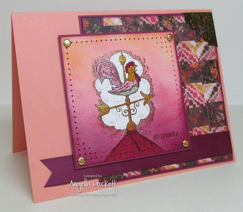 SU Peaceful Pastoral and Cute Converse, Card Designer Angie Crockett