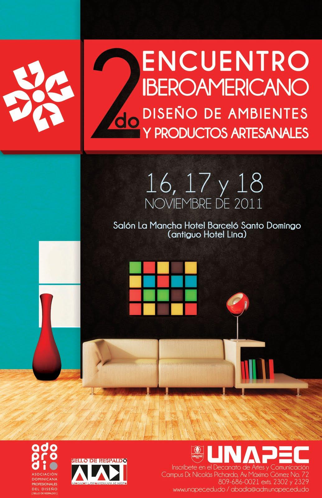 Adoprodi aladi rep blica dominicana segundo encuentro Diseno de ambientes y arquitectura de interiores