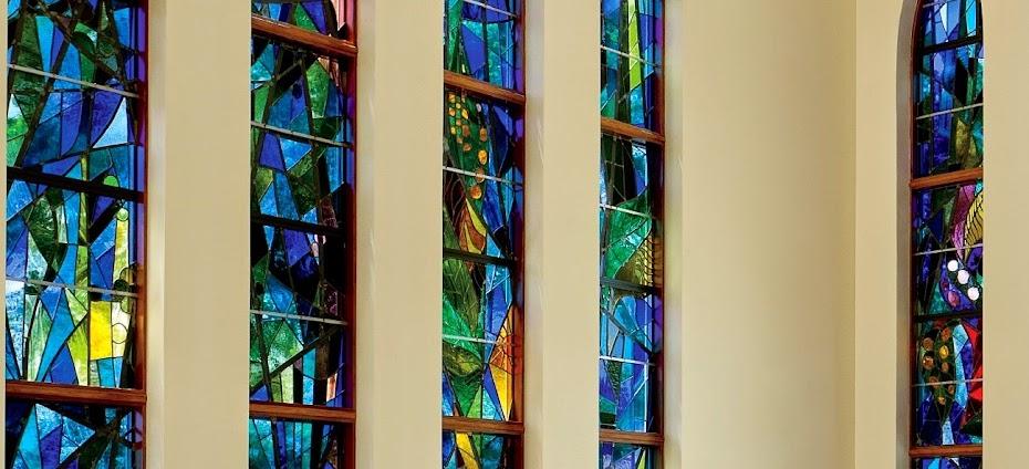 2008-37 FENÊTRES- ST-SYLVESTER CHURCH MEDFORD NY (RÉINSTALLÉS)