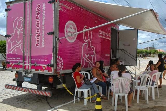 Ouro Velho comemora Dia Internacional da Mulher com realização de exames preventivos