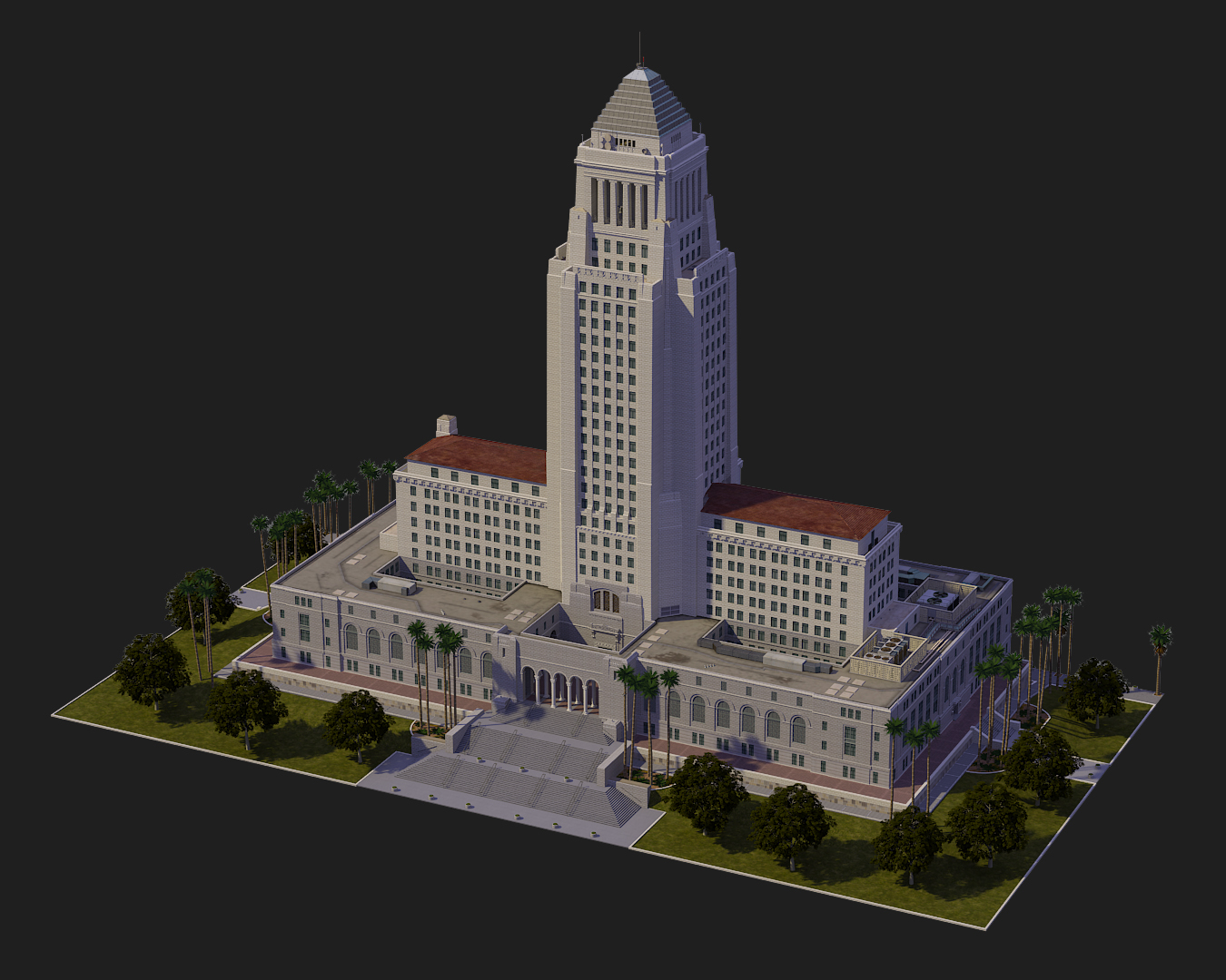 los angeles city hall matthew medina s 3d blog
