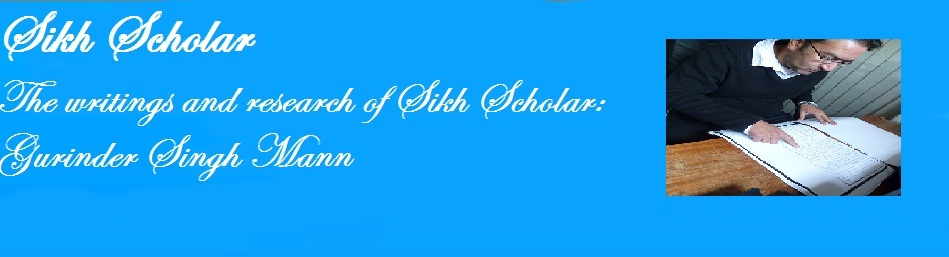 Sikh Scholar Gurinder Singh Mann