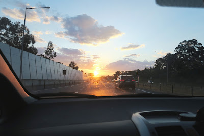 27- Bondi- Drive Home Sunset