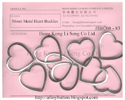 Metal Heart Buckles Supplier - Hong Kong Li Seng Co Ltd