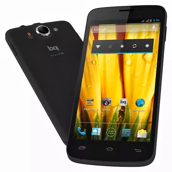 bq Aquaris 5 HD: un teléfono con gran resolución un precio intersante