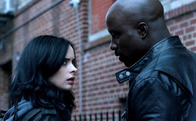 Jessica Jones and Luke Cage