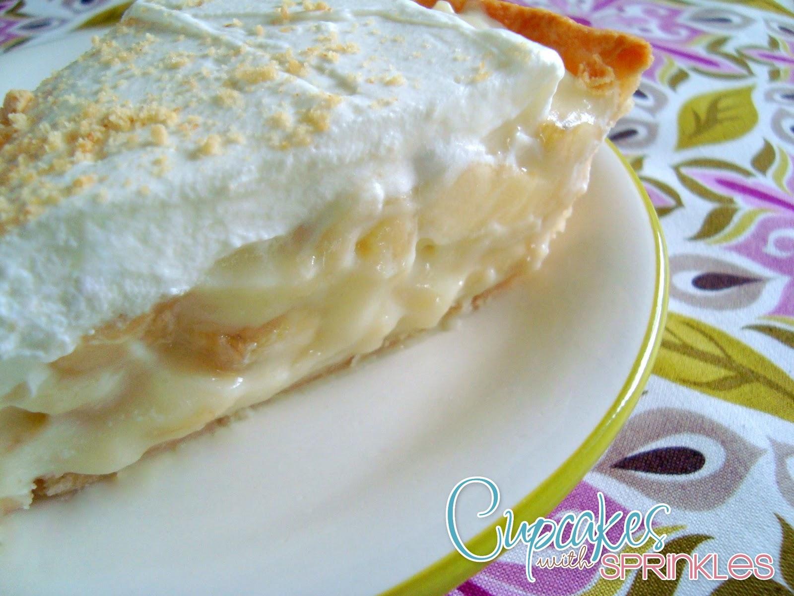 Banana Cream Pie Recipe — Dishmaps